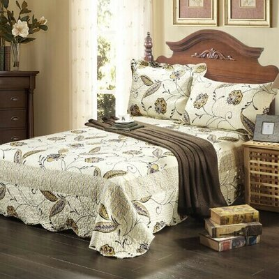 Seasons Eve Bedspread Set Size: Queen