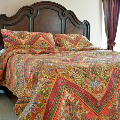 3 Piece Bedspread Set Size: Queen