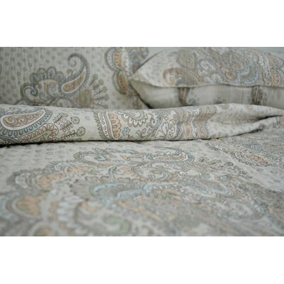 French Garden Bedspread Set Size: Queen