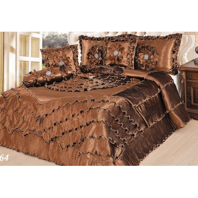 Waterfall 6 Piece Comforter Set