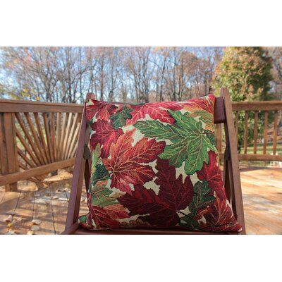 Fall Foliage Throw Pillow Cushion Cover