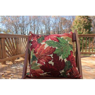 Fall Foliage Throw Pillow Cushion Cover