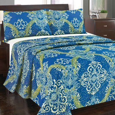 Star Gazing 1000 Flat Sheet Set Size: Full