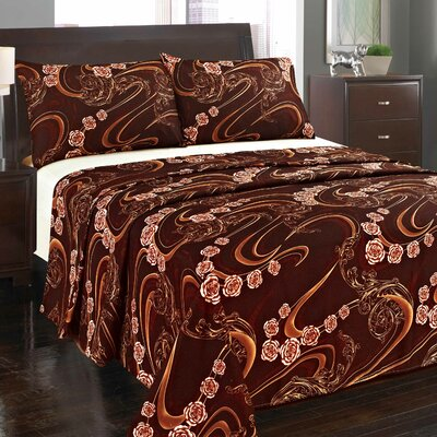 Melted Flat Sheet Set Size: King