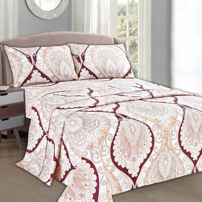 Mandala Flat Sheet Set Size: Queen