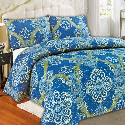 Star Gazing Duvet Cover Set Size: Full