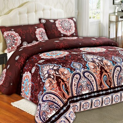 Palace Duvet Cover Set Size: Full