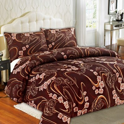 Melted Duvet Cover Set Size: King