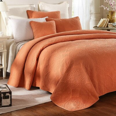 Tuscany Coverlet Set Size: Twin