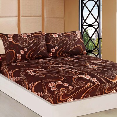 Melted Fitted Sheet Set Size: Queen