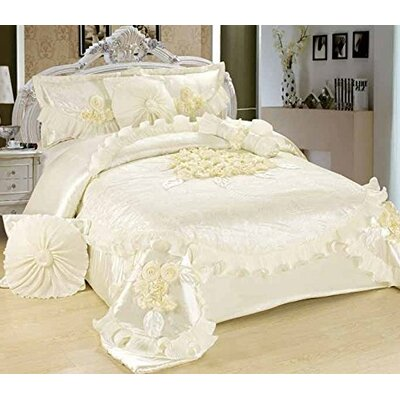 6 Piece Comforter Set Size: Queen