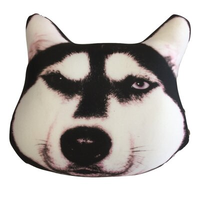 Cute Puppy Dog Microbead Throw Pillow