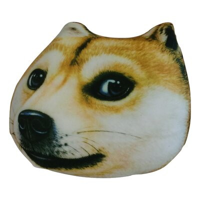Cute Puppy Dog Microbead Realistic Pillow