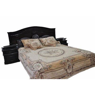 Woven Desert Blossom Bedspread Set Size: King