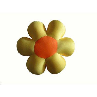 Field of Flower Indoor/Outdoor Throw Pillow Color: Yellow