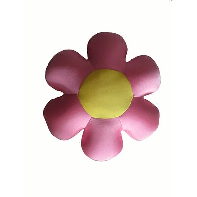 Field of Flower Indoor/Outdoor Throw Pillow Color: Pink