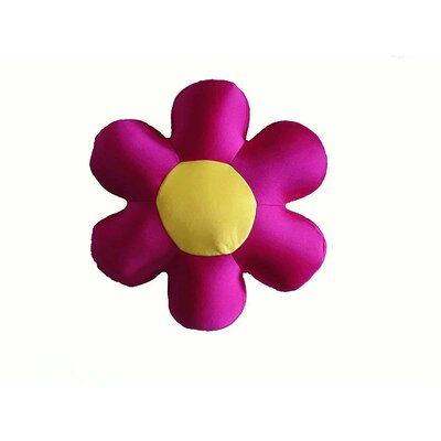 Field of Flower Indoor/Outdoor Throw Pillow Color: Fuchsia