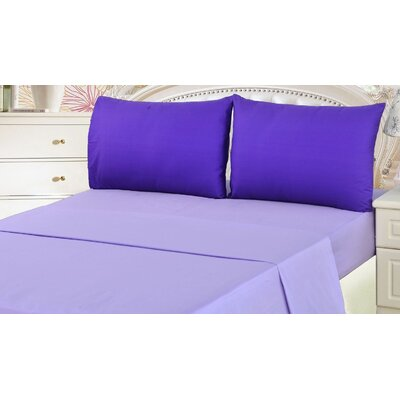 100% Cotton Deep Pocket Sheet Set Size: King