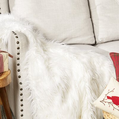 Lion Pile Faux Fur Throw Blanket