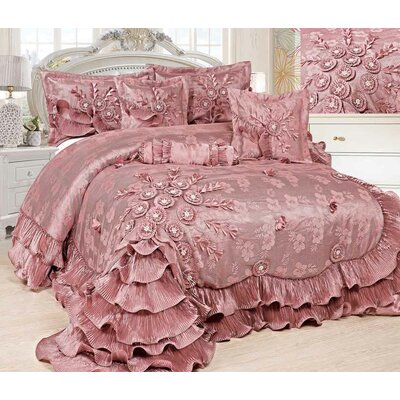 Royal Dreams 6 Piece Comforter Set Size: California King