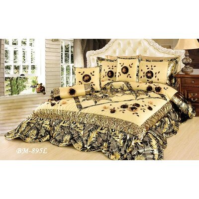 Autumn Falls 6 Piece Comforter Set Size: Queen