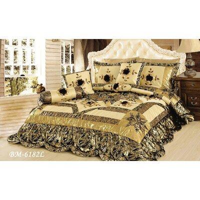 Jungle Dreams 6 Piece Comforter Set Size: King