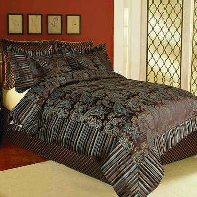 Eastern Spring 6 Piece Comforter Set Size: California King