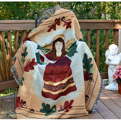 Peaceful Wish Tapestry Throw Blanket