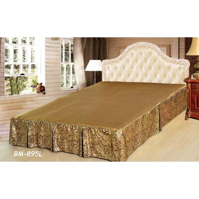 Noodles Bed Skirt Size: California King