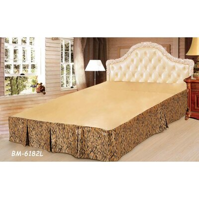 Panther Bed Skirt Size: Queen