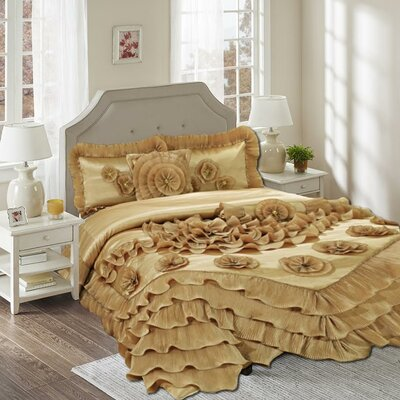 6 Piece Comforter Set Size: King