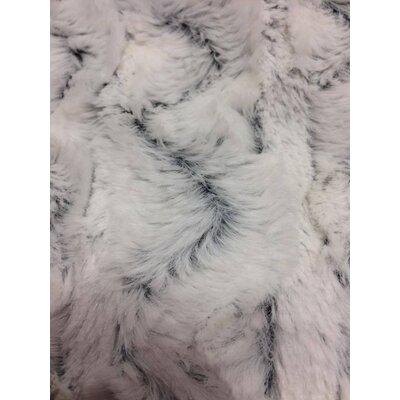 Faux Fur Soft Throw Blanket Size: 50 L x 60 W, Color: Snowy Owl