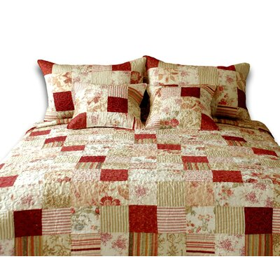 3 Piece Reversible Quilt Set Size: California King