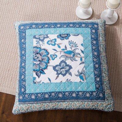 Ezra Floral Patchwork Elegance Cotton Euro Sham