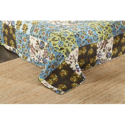 Bradner Bedspread Quilt Set Size: California King