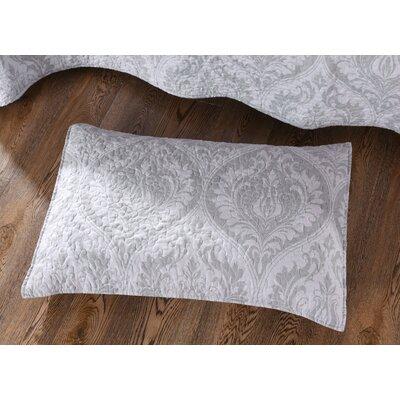 Lydia Matelasse Floral Austere Moon Pillow Sham