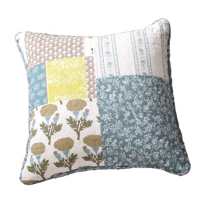 Shelby Cottage Sky Breeze Patchwork Quilt 100% Cotton Pillow Cover