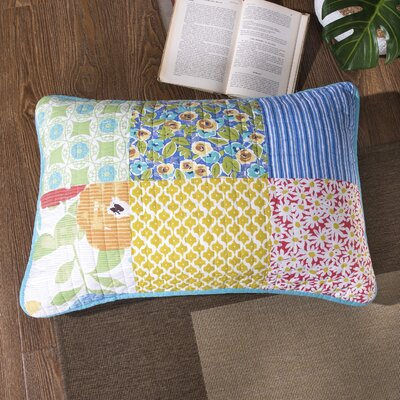 Creamer Patchwork Quilted Cotton Pillow Cover
