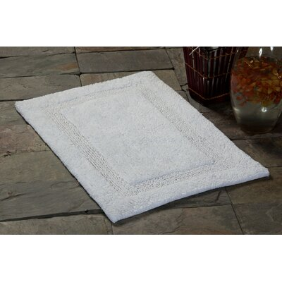 Bath Rug Color: White, Size: 50 x 30