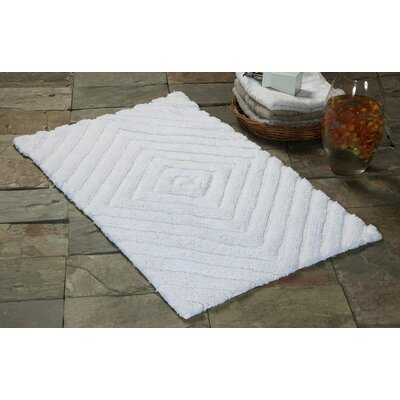 Bath Rug Size: 50 x 30, Color: White
