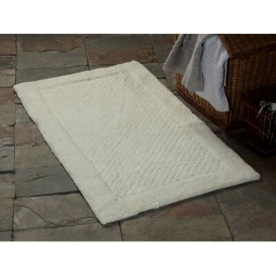 2 Piece Bath Rug Set Color: Ivory