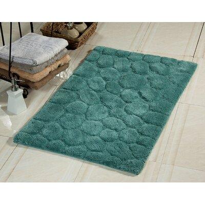 Ahrens Bath Rug Size: 34 x 21, Color: Arctic Blue
