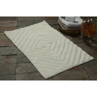 Bath Rug Size: 36 x 24, Color: Ivory