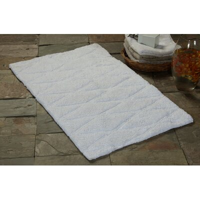 2 Piece Bath Rug Set Color: White