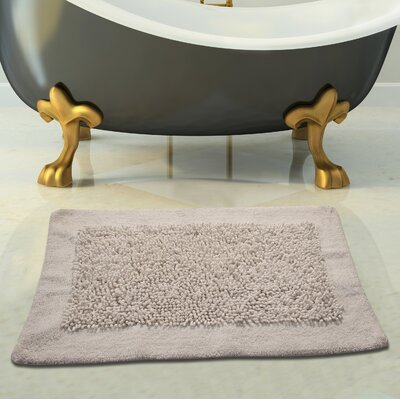 Tufted Bath Rug Size: 36 x 24, Color: Off-White