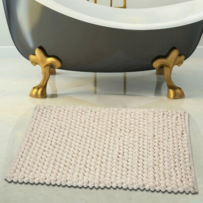 Bath Rug Set Color: Ivory