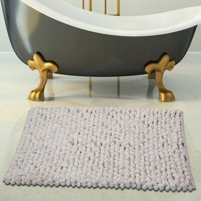 Bath Rug Set Color: White