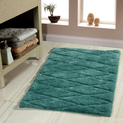 2 Piece Bath Rug Set Color: Arctic Blue