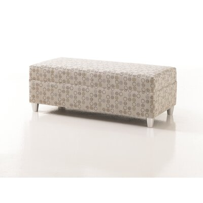 Crosby Upholstered Bariatric Bedroom Bench in Grade 2 Fabric Upholstery Color: Fabric Eco