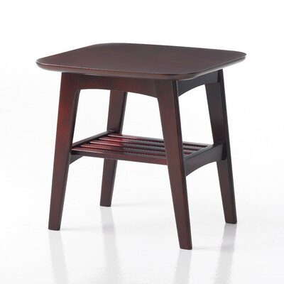 Brodie End Table Finish: Amber Cherry